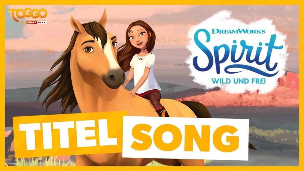 动画主题曲:wild und frei,骑着马儿在草原上纵情奔驰~
