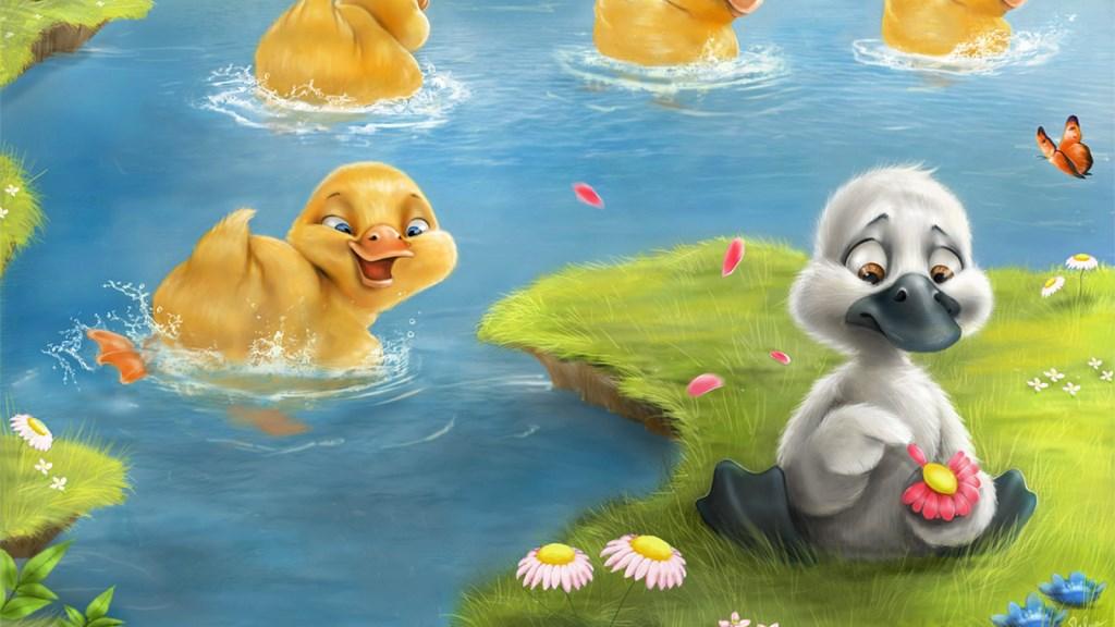 初学者必备:经典童话故事《丑小鸭》