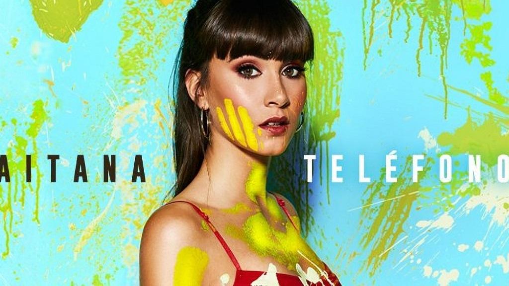 西班牙OT美女歌手Aitana最新单曲:TELÉFONO