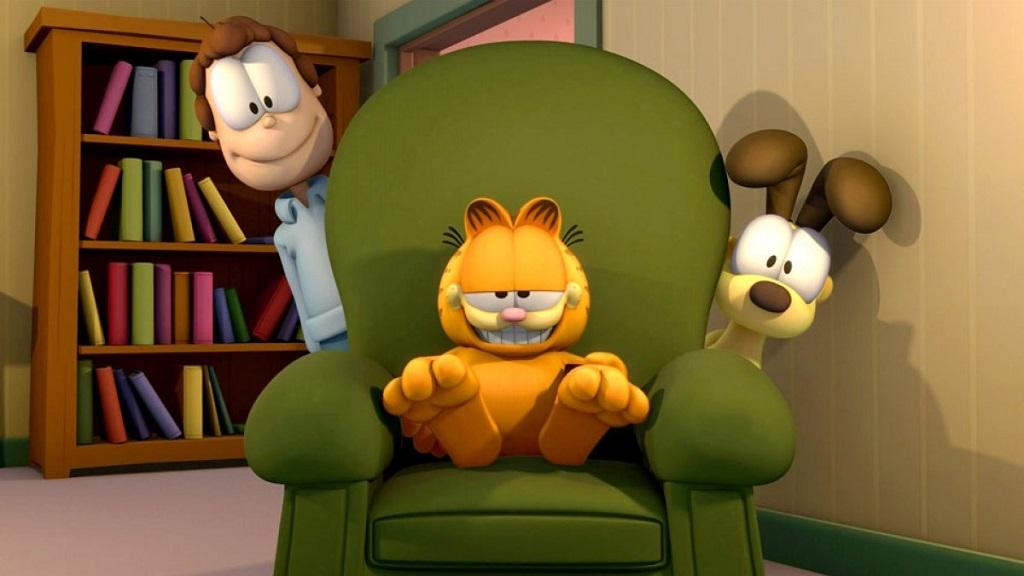 《加菲猫的幸福生活》西语版来啦~让蠢萌加菲猫陪你过周末~😺