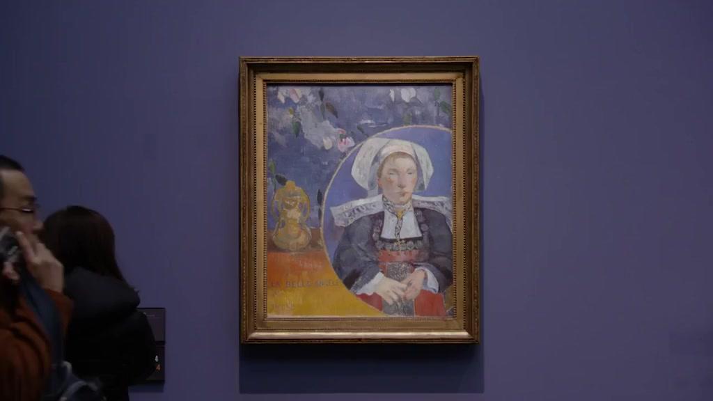讓我們一起去巴黎奧賽博物館,看一看阿凡橋派繪畫的解說~