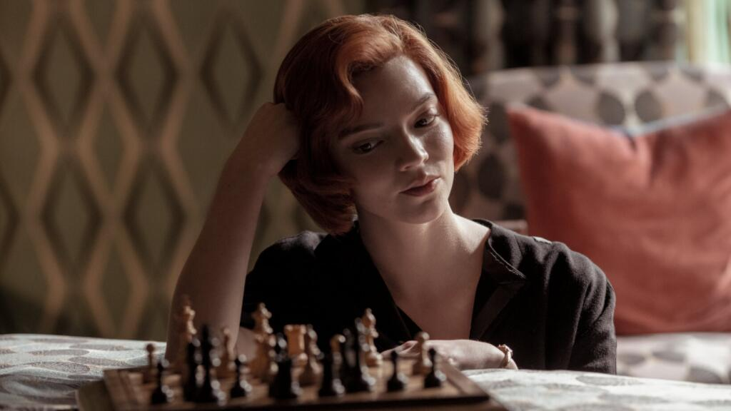 Netflix最新高分神作《女王的棋局》法語預告