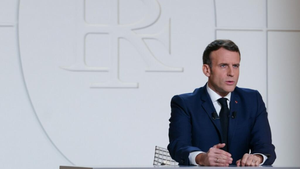 法國總統馬克龍11月24日全國電視演講