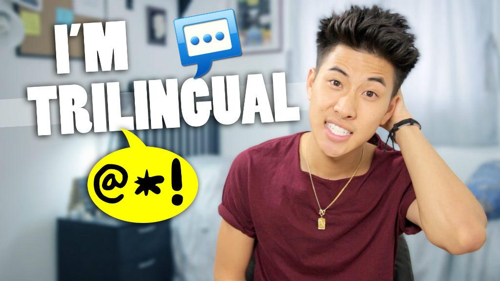 会三门语言是怎样一种体验?华裔小哥哥告诉你😘