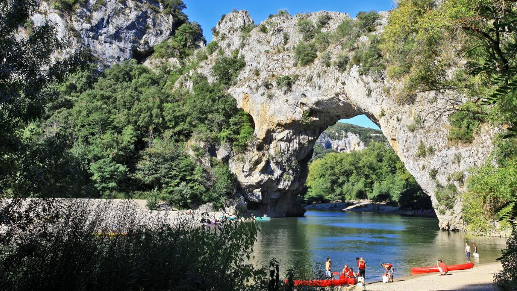周末带你去法国阿尔代什省走一圈,看看那里的自然景观~