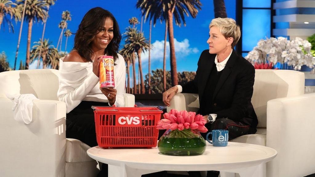 奥巴马夫人再登艾伦秀:讲述离开白宫后的生活👀