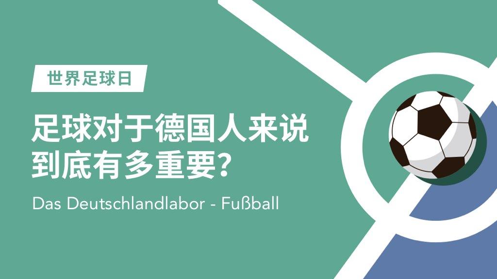 【德国研究实验室】足球对于德国人来说到底有多重要呢?