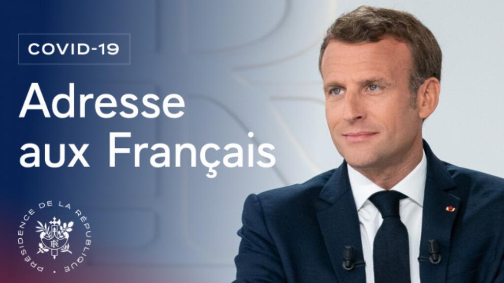 中法对照:法国总统马克龙3月31日全国电视讲话