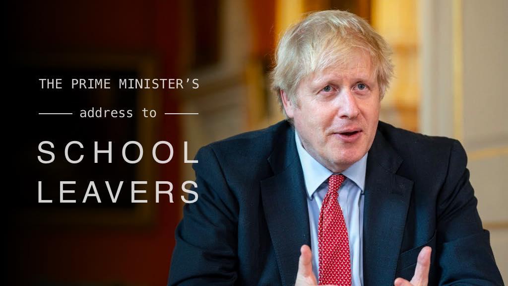 英国首相2020年毕业演讲:我迫不及待地想看到你们建造的新世界