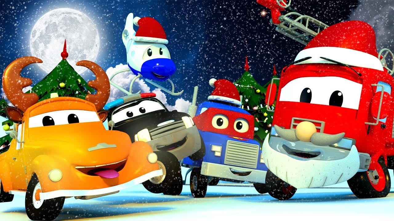 汽车城之拖车汤姆——小汽车们也喜欢过圣诞节!