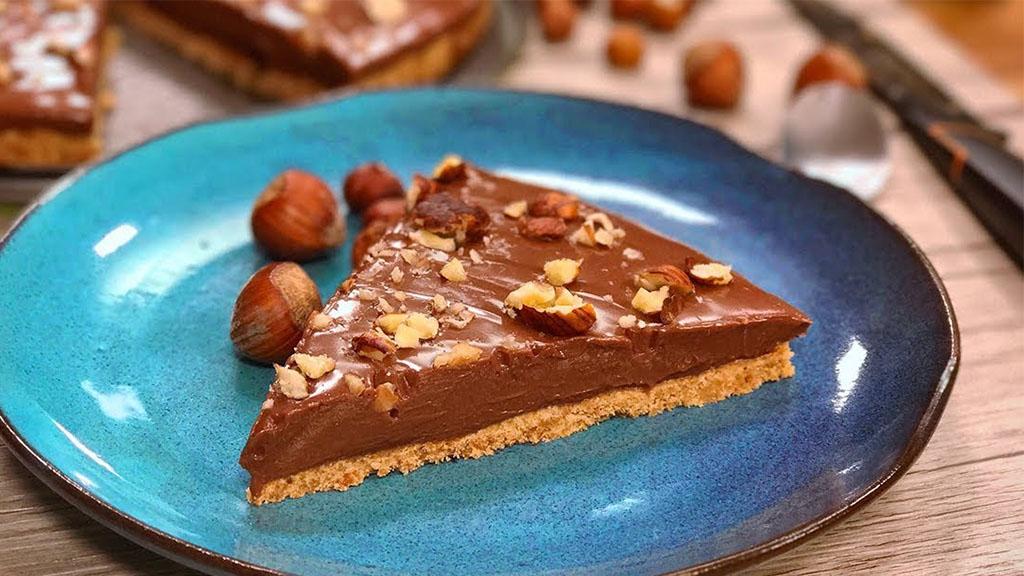白色情人节到啦,做一个坚果巧克力芝士蛋糕温暖自己~
