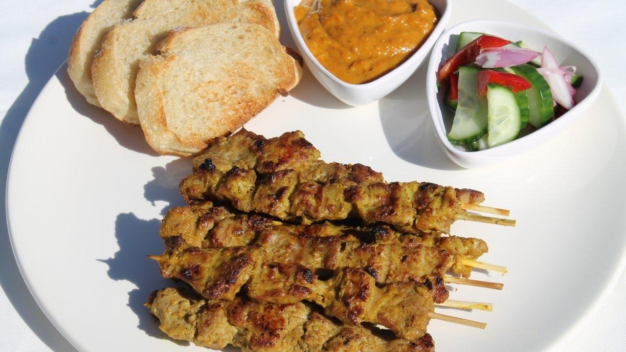 用法语教你做泰国街头的美味小吃:泰式猪肉串