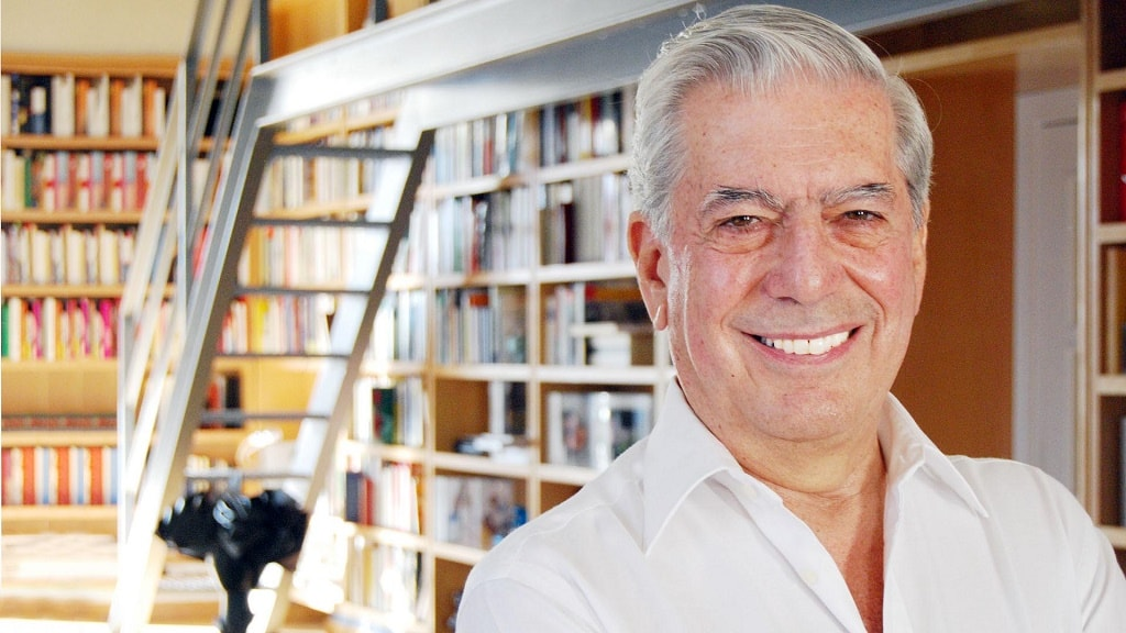 文学大师 Mario Vargas Llosa 获诺贝尔文学奖时演讲